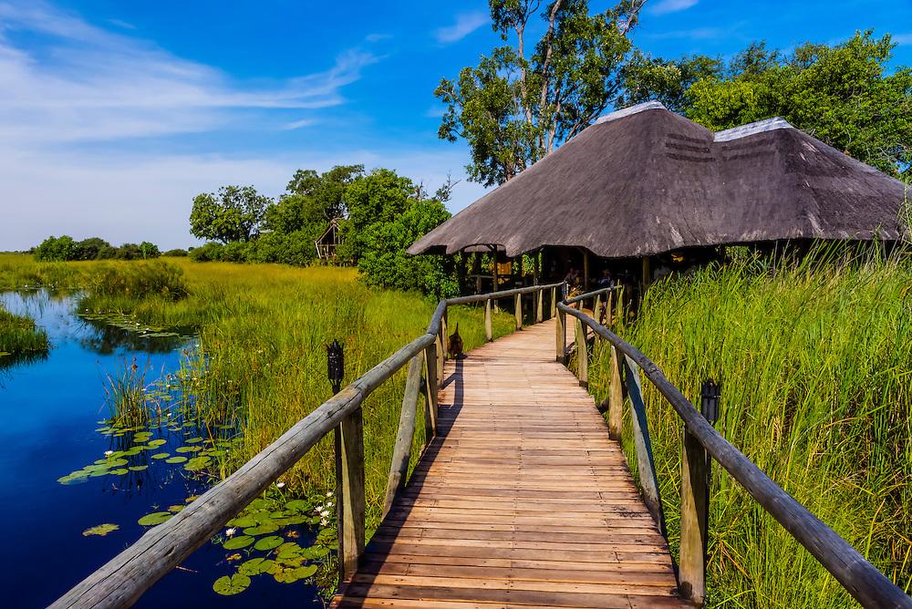 Lebala Camp, Kwando Concession, Linyanti Marshes, Botswana.