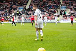 Falkirk's John Baird. Dunfermline 1 v 2 Falkirk, Scottish Championship game played 22/4/2017 at Dunfermline's home ground, East End Park.