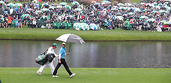 April 7, 2018 - Augusta, GA, USA - Rory Mcllroy walks to the green on the 16th hole during the third round of the Masters Tournament on Saturday, April 7, 2018, at Augusta National Golf Club in Augusta, Ga. (Credit Image: © Jason Getz/TNS via ZUMA Wire)