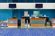Airport terminal check-in desk - Cairns International <br />