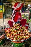 Food Market, Koh Chen, Cambodia