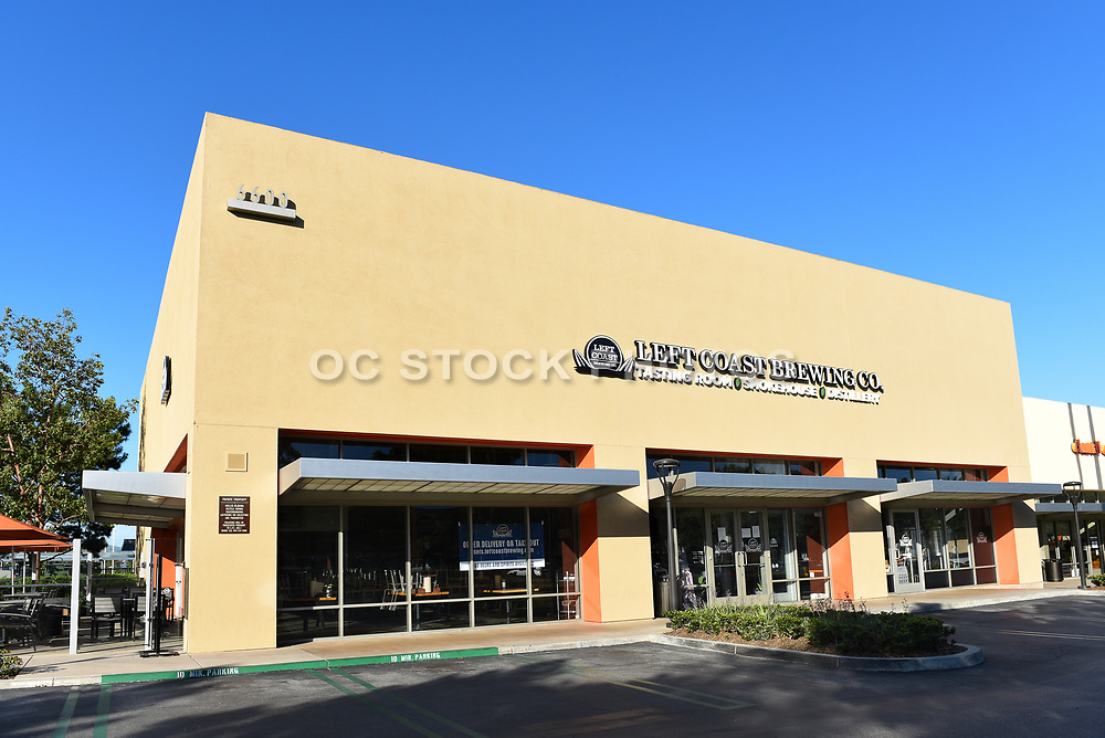 Left Coast Brewing Company Tasting Room, Distillery, and Smokehouse in Irvine