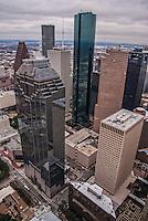 Downtown Houston featuring Heritage Plaza & Wells Fargo Bank Plaza