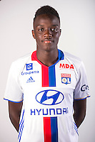 Mouctar Diakhaby during the photocall of Lyon for new season of Ligue 1 on September 22nd 2016 in Lyon<br /> Photo : OL / Icon Sport