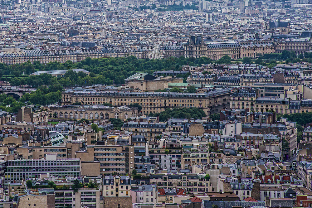 Rue de Rivoli, Place de la Concorde & Paris Cityscape