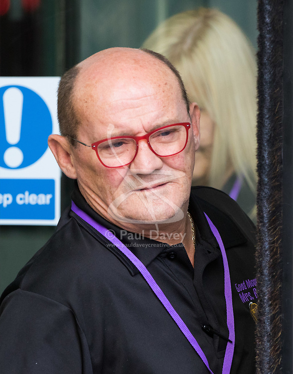 London, July 9th 2017. Brendan O'Carroll and Jennifer Gibney appear at the BBC to promote their Good Morning Mrs Brown Tour
