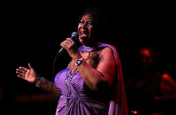 Aretha Franklin Died at 76 on August 16, 2018 - Aretha Franklin performs at the Chicago Theatre on State Street in Chicago, Ill., May 19, 2011. Photo by Scott Strazzante/Chicago Tribune/TNS/ABACAPRESS.COM