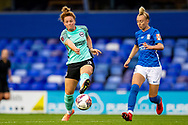 Brighton & Hove Albion defender Felicity Gibbons (3) during the FA Women's Super League match between Birmingham City Women and Brighton and Hove Albion Women at St Andrews, Birmingham United Kingdom on 12 September 2021.