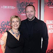 NLD/Amsterdam/20191031 - Ghost Stories premiere, Mylene d'Anjou en Richard Groenendijk