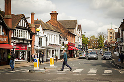 Pinner High Street, London Borough of Harrow North West London UK