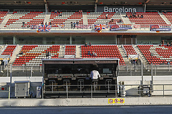 February 28, 2019 - Barcelona, Catalonia, Spain - Mercedes pitlane during F1 test celebrated at Circuit of Barcelona 28th February 2019 in Barcelona, Spain. (Credit Image: © Urbanandsport/NurPhoto via ZUMA Press)