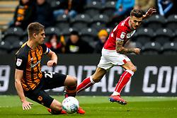 Jamie Paterson of Bristol City crosses the ball - Mandatory by-line: Robbie Stephenson/JMP - 05/05/2019 - FOOTBALL - KCOM Stadium - Hull, England - Hull City v Bristol City - Sky Bet Championship