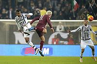 Alex Sandro Juventus, Maxi Lopez Torino,<br /> Torino 16-12-2015, Juventus Stadium, Football Calcio 2015/2016 Coppa Italia, derby, Juventus - Torino, Foto Filippo Alfero/Insidefoto