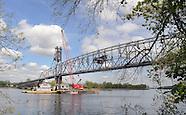Burlington Bristol Bridge Colsed For Weekend