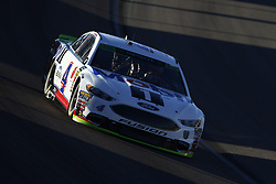 September 14, 2018 - Las Vegas, Nevada, United States of America - Kevin Harvick (4) brings his car through the turns during qualifying for the South Point 400 at Las Vegas Motor Speedway in Las Vegas, Nevada. (Credit Image: © Chris Owens Asp Inc/ASP via ZUMA Wire)