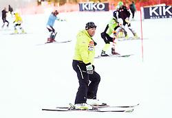 Mitja Kunc, coach  of Slovenia prior to the Men's Slalom - Pokal Vitranc 2014 of FIS Alpine Ski World Cup 2013/2014, on March 9, 2014 in Vitranc, Kranjska Gora, Slovenia. Photo by Matic Klansek Velej / Sportida