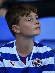Reading supporter at Madejski Stadium - Mandatory by-line: Paul Knight/JMP - Mobile: 07966 386802 - 22/08/2015 -  FOOTBALL - Madejski Stadium - Reading, England -  Reading v MK Dons - Sky Bet Championship