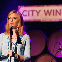 Kate Hendricks - Uncorked Comedy at City Winery - March 22, 2012