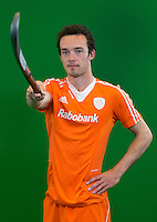 DEN BOSCH -  DIEDE VAN PUFFELEN. Nederlands Hockeyteam  voor nieuwe platform Hockey.nl.    FOTO KOEN SUYK