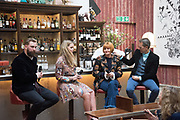 TIM LORD; LADY KITTY SPENCER; MARY PORTAS; RICHARD E. GRANT, Bicester Village and Debrett's host a breakfast panel discussion featuring: Mary portas, Richard E. Cooper, Kitty Spencer and Tim Lord on the Future of Fashion and Etiquette. Academicians Room, Royal Academy. London. 28 March 2017