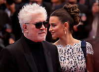 Director Pedro Almodóvar and Actress Penelope Cruz at the Dolor Y Gloria (Pain and Glory) gala screening at the 72nd Cannes Film Festival Friday 17th May 2019, Cannes, France. Photo credit: Doreen Kennedy
