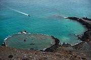 Sunken Crater<br /> Bartolome Island<br /> Galapagos<br /> Ecuador, South America