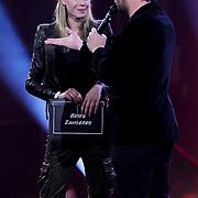 NLD/Amsterdam/20100415 - Uitreiking 3FM Awards 2010, Nicolette Kluiver en Sander Lantinga