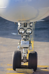 Nose Gear Of Airplane