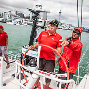 Auckland stopover, Peroni Pro-Am Race on board MAPFRE. 15 March, 2018.