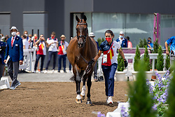Ferrer-Salat Beatriz, ESP, Elegance, 123<br /> Olympic Games Tokyo 2021<br /> © Hippo Foto - Dirk Caremans<br /> 23/07/2021