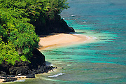 Hideaways Beach, Princeville, Island of Kauai, Hawaii