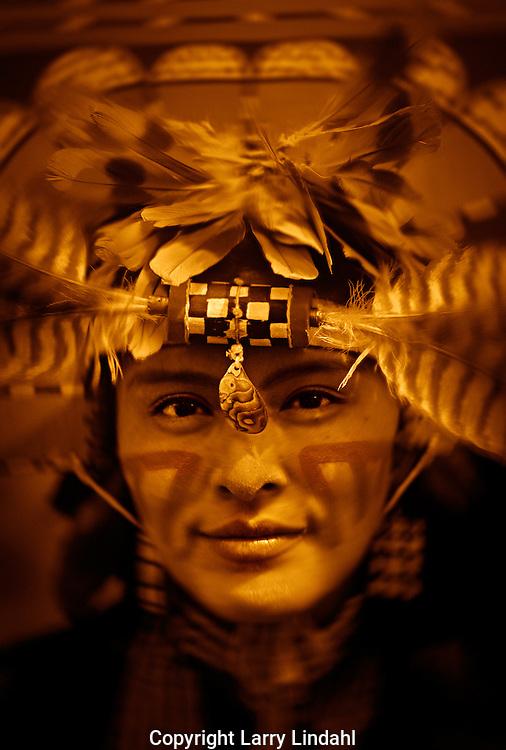 Hopi Water Maiden dancer