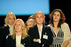 14-12-2009 ALGEMEEN: TOPSPORT GALA AMSTERDAM: AMSTERDAM<br /> Michelle Goos, EllyAn de Boer en Channa Matteman <br /> ©2009-WWW.FOTOHOOGENDOORN.NL