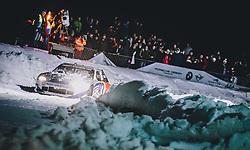 01.02.2020, Flugplatz, Zell am See, AUT, GP Ice Race, im Bild Red Bull Projekt Spelberg NASCAR, Patrick Friesacher // Patrick Friesacher with a Red Bull Projekt Spelberg NASCAR during the GP Ice Race at the Airfield, Zell am See, Austria on 2020/02/01. EXPA Pictures © 2020, PhotoCredit: EXPA/ JFK