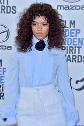 February 8, 2020, Santa Monica, Kalifornien, USA: Taylor Russell bei der 35. Verleihung der Film Independent Spirit Awards 2020 im Zelt am Santa Monica Beach. Santa Monica, 08.02.2020 (Credit Image: © Future-Image via ZUMA Press)