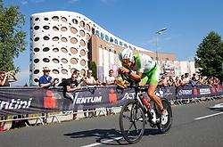 07.07.2019, Klagenfurt, AUT, Ironman Austria, Radfahren, im Bild Lukasz Wojt (GER) // Lukasz Wojt (GER) during the bike competition of the Ironman Austria in Klagenfurt, Austria on 2019/07/07. EXPA Pictures © 2019, PhotoCredit: EXPA/ Johann Groder