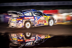 October 26, 2017 - Deeside, Wales, United Kingdom - 1 Sébastien Ogier (FRA) and co-driver Julien Ingrassia (FRA) of M-Sport compete in the Tir Prince Special Stage, Wales of the Rally GB round of the 2017 FIA World Rally Championship. (Credit Image: © Hugh Peterswald/Pacific Press via ZUMA Wire)