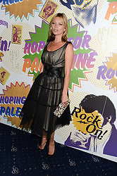 KATE MOSS at the Hoping Foundation's 'Rock On' Benefit Evening for Palestinian refuge children held at the Cafe de Paris, London on 20th June 2013.