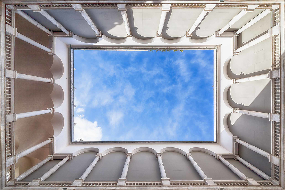 Tunnels to the Sky series<br /> Genoa<br /> Italy. 2014