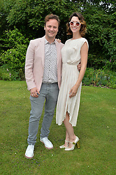 NICHOLAS KIRKWOOD and MARGO STILLEY at the Cartier hosted Style et Lux at The Goodwood Festival of Speed at Goodwood House, West Sussex on 26th June 2016.