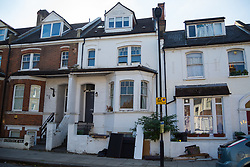 Sumatra Road in West Hampstead where Retired James Gosling, 58, is involved in a long running dispute with Camden council that began when his flat was flooded with sewage. West Hampstead, London, October 25 2018.