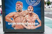 Advert for Sesolofeo gym membership, Seville, Spain