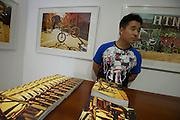 New Beijing Bike Culture, the Kappa showroom in Beijing's trendy Gulou district  -- 2011 Tour of Beijing Scouting Photos