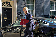 Secretary of State for Digital, Culture, Media and Sports Oliver Dowden, arrives in 10 Downing Street on Wednesday, June 24, 2020. (Photo/ Vudi Xhymshiti)