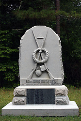 July 2007: 80th Ohio Infantry.  Monuments of Valor at the Chickamauga National Park in Georgia. There are hundreds of memorials and markers throughout the park.  They tell the story of the battle, show positioning, and honor those who were engaged in the battle. Attractions near Chattanooga Tennessee. Point Park, National Park Service - Lookout Mountain, TN.
