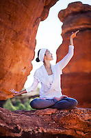 Minhee Cha at Garden of the Gods, Colorado Springs, COLORADO