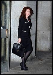 Rebekah Brooks former editor of the News of the World leaves The Old Bailey Phone during the Phone Hacking Trial, London, United Kingdom. Tuesday, 29th October 2013. Picture by Andrew Parsons / i-Images