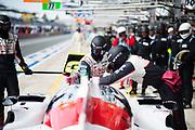 June 13-18, 2017. 24 hours of Le Mans. Toyota mechanics