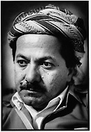 ERBIL, KURDISTAN, IRAQ, 26.11.91.  Massoud Barzani, leader of th Kurdistan Democratic Party (KDP). ©Photo by Frits Meyst/NewsImages