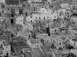Matera, Basilicata, Italy - Sasso Barisano